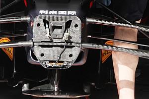 Red Bull: un braccio unico nella sospensione anteriore?