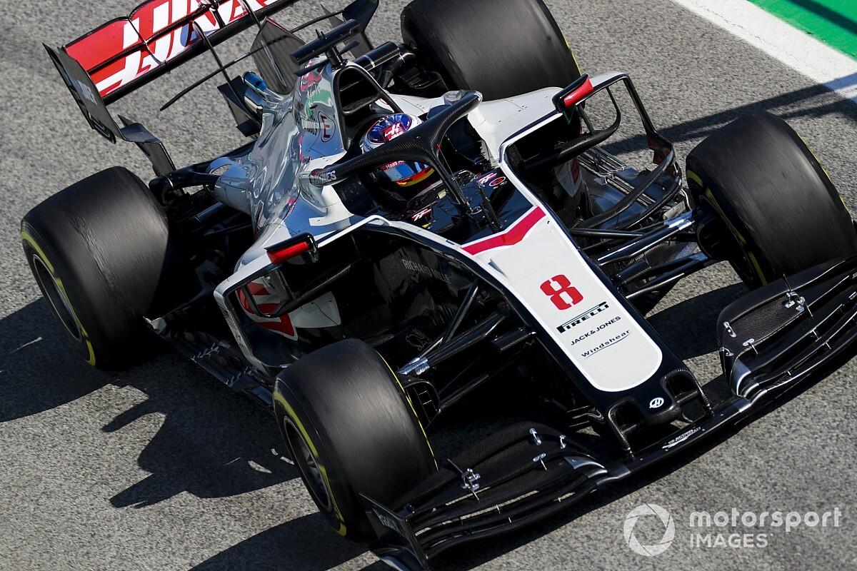 """Grosjean: """"Haas VF-20 dayanıklı ve iyi bir araç"""""""
