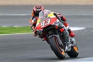 Marquez quickest as rain cuts testing short for 2019