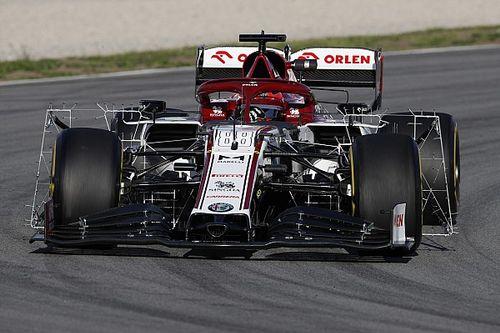 Kubica snelste bij aanvang tweede test, Red Bull lang in de pits