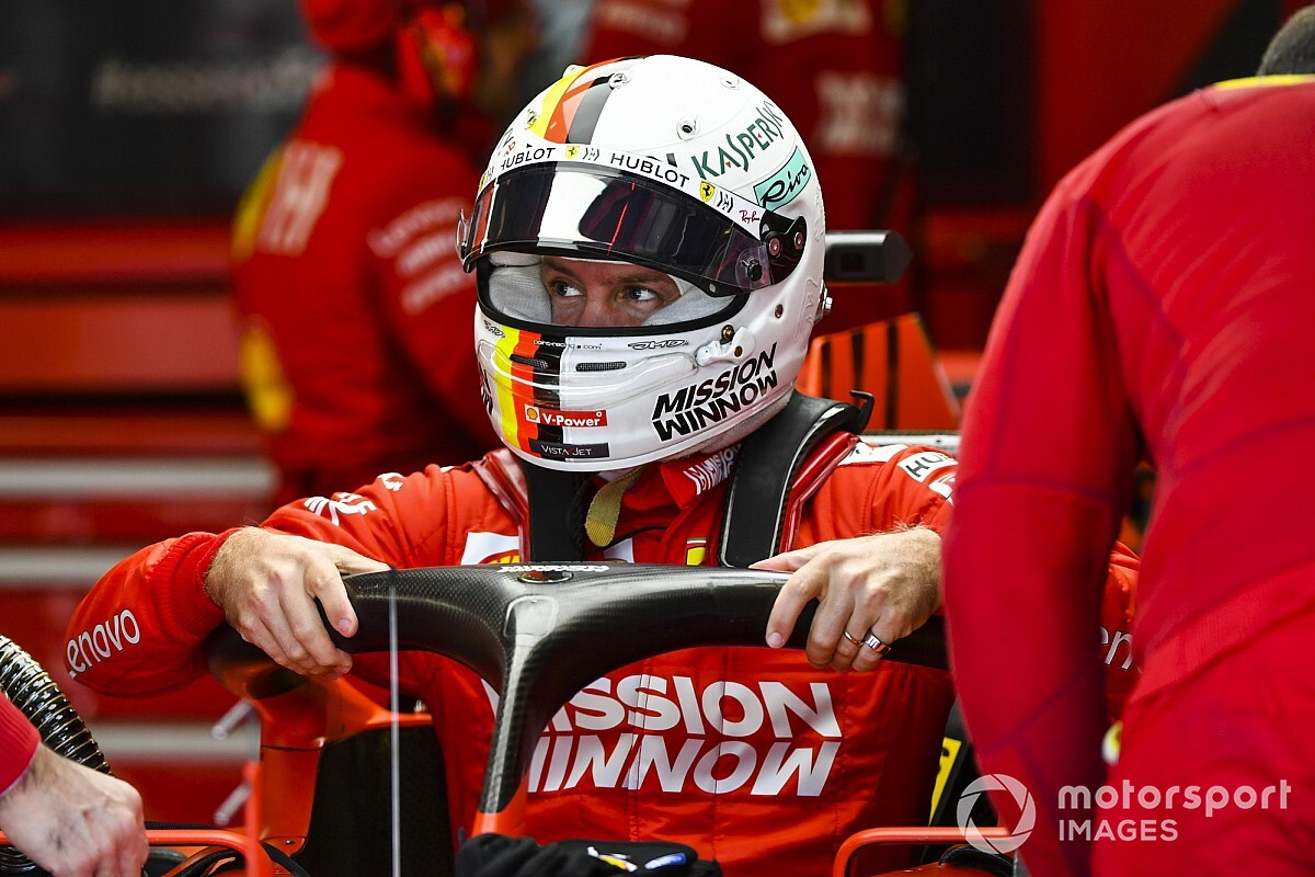 "Vettel slams ""major BS"" restriction on helmet changes"