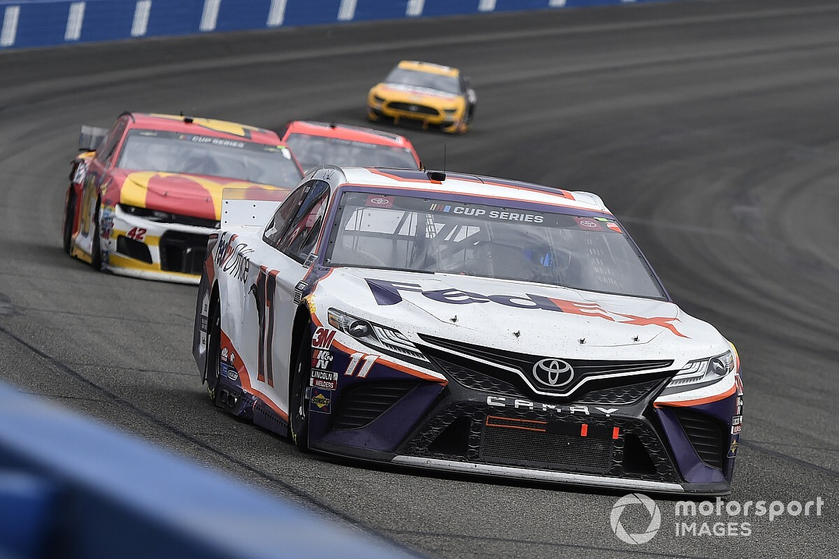 "Hamlin ready for return to real racing ""under a microscope"""