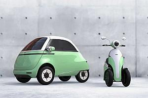 Teljesen újratervezve érkezik a világ legcukibb kisautójának új változata, a Microlinio 2.0