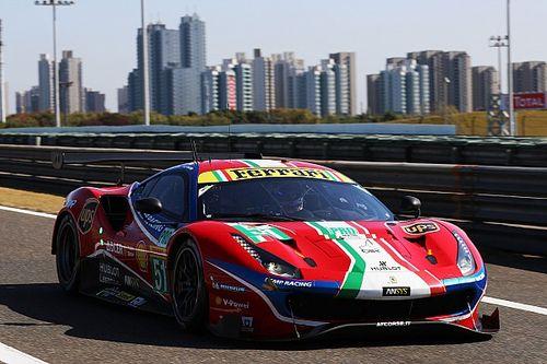 WEC上海:フェラーリ51号車、最低車高違反で失格。LM-GTE Pro優勝が幻に