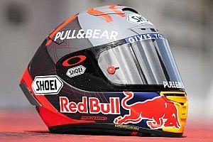 Fotos: el nuevo casco que lucirá Marc Márquez esta pretemporada