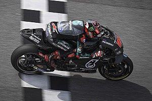 Куартараро стал быстрейшим во второй день тестов в Катаре, Маркес разбил свой байк