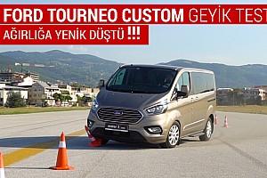 Ford Tourneo Custom | Geyik Testi ve Slalom | Dünyada İlk!