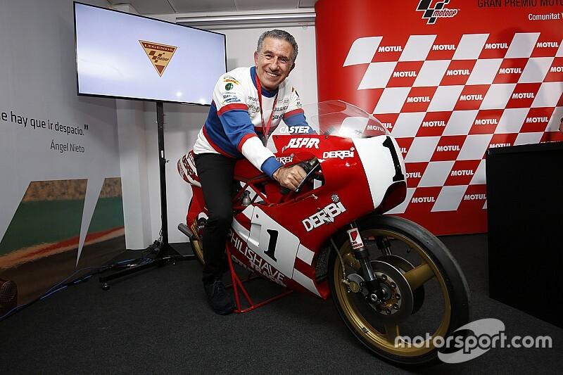 Viervoudig wereldkampioen Martinez benoemd tot 'MotoGP Legend'