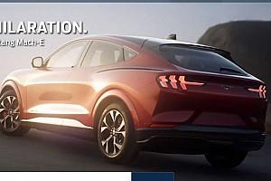 Hivatalos fotók érkeztek az elektromos-hajtású Mustang SUV-ról