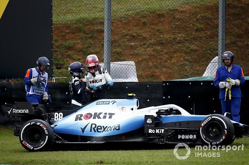 """Kubica over crash: """"Begreep er in eerste instantie niets van"""""""