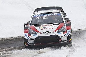 WRC: Evans se libra del desastre y sigue en cabeza en Montecarlo