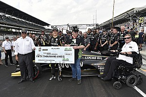 Indy 500: Ericsson, #7 Arrow SPM crew win pitstop competition