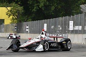 Ньюгарден завоевал поул второй гонки в Детройте