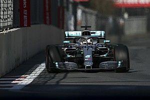 """Hamilton: """"Ik vind het nooit leuk om als tweede te finishen"""""""