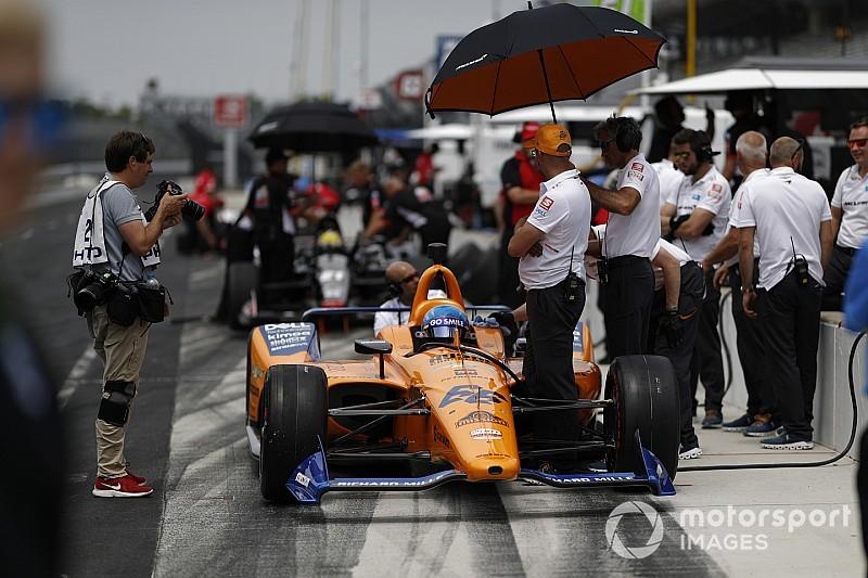Fernando Alonso éliminé des 500 Miles d'Indianapolis!