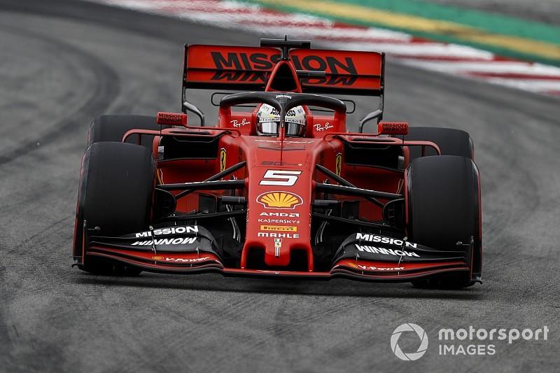 Vettel diz que Ferrari precisa 'cavar fundo' para alcançar Mercedes