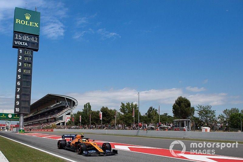 Las alineaciones de los test de F1 en Barcelona