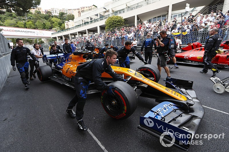 Norris: McLaren anticipated Monaco 'roadblock' opportunity