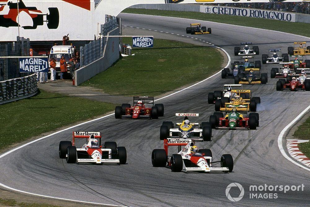 «Моторспорт.ТВ»: лучшие кадры из истории Гран При в Имоле