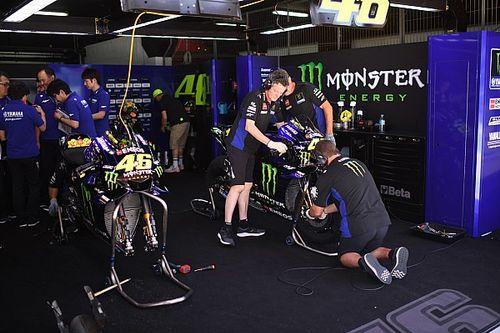 Viñales y Rossi esperan estrenar la Yamaha de 2020 en el test de Brno