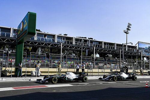 Pas de panique chez Mercedes à Bakou