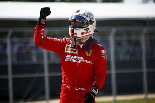 """Vettel: """"Estoy muy feliz, pero no sé si será un punto de inflexión"""""""