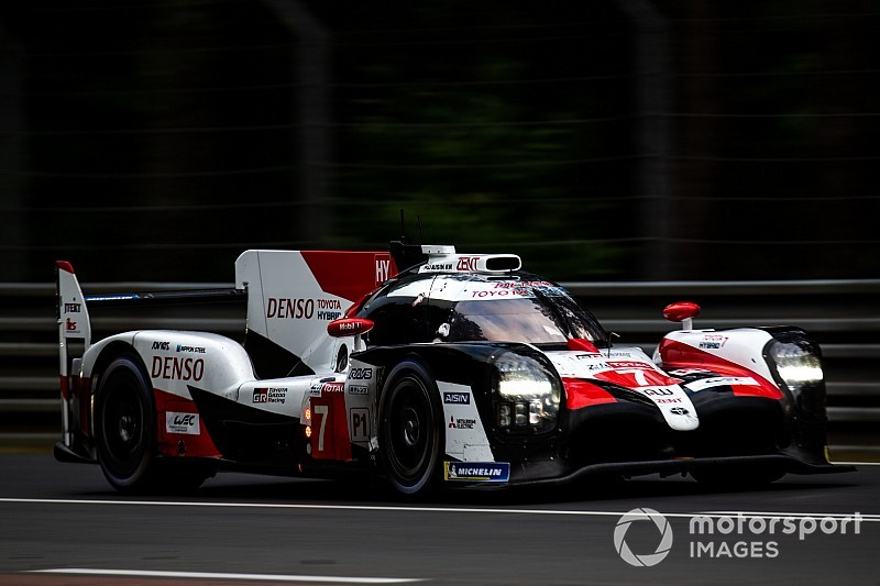 Les Toyota alourdies pour le Prologue du WEC version 2019-2020