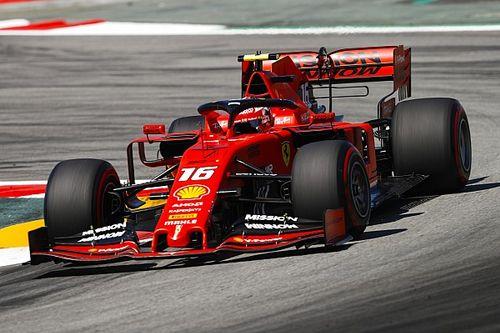 Leclerc: Mercedes, Barcelona testinde yavaş değildi