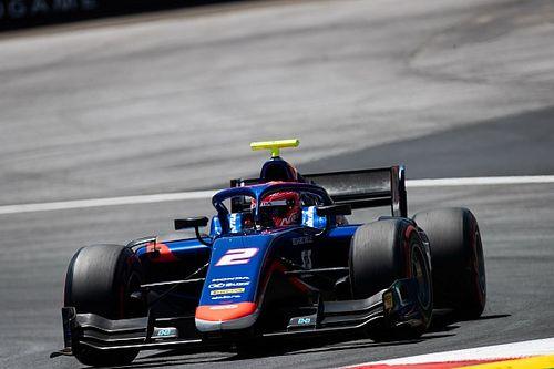 F2オーストリアレース1:松下信治が復帰後初優勝! 4番手スタートから大逆転