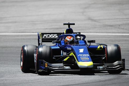 Red Bull Ring F2: Deletraz sets pace in practice