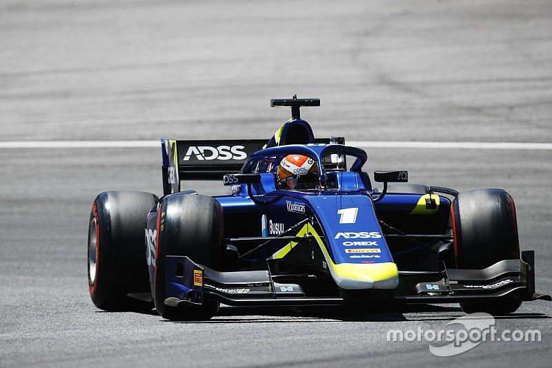 Fotogallery: lo svizzero Louis Delétraz e il Sauber Junior Team nel GP d'Austria