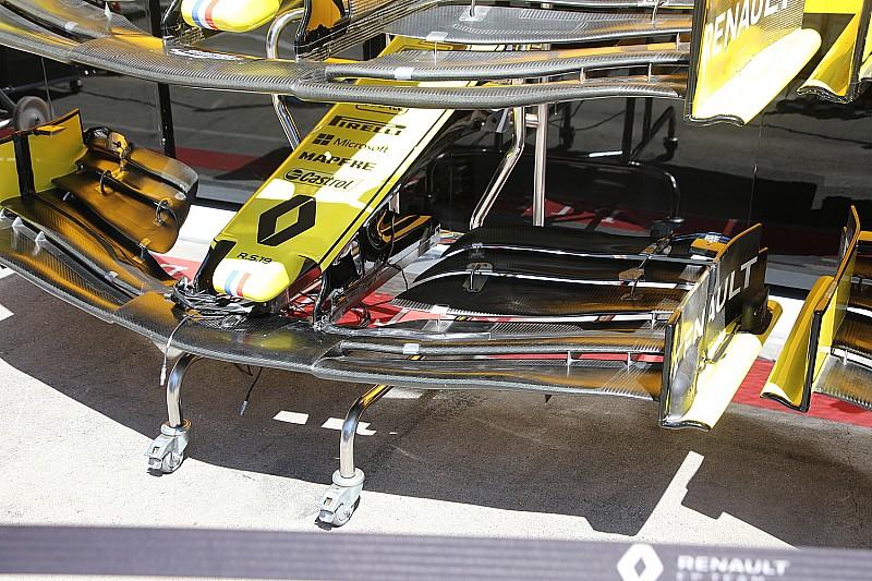 Renault: nuova ala anteriore per Suzuka