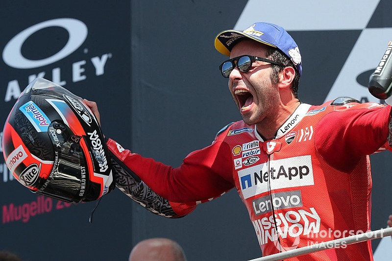 Course - Petrucci signe sa 1re victoire en MotoGP !