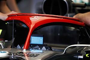 Mercedes: l'Halo diventa rosso come tributo a Niki Lauda
