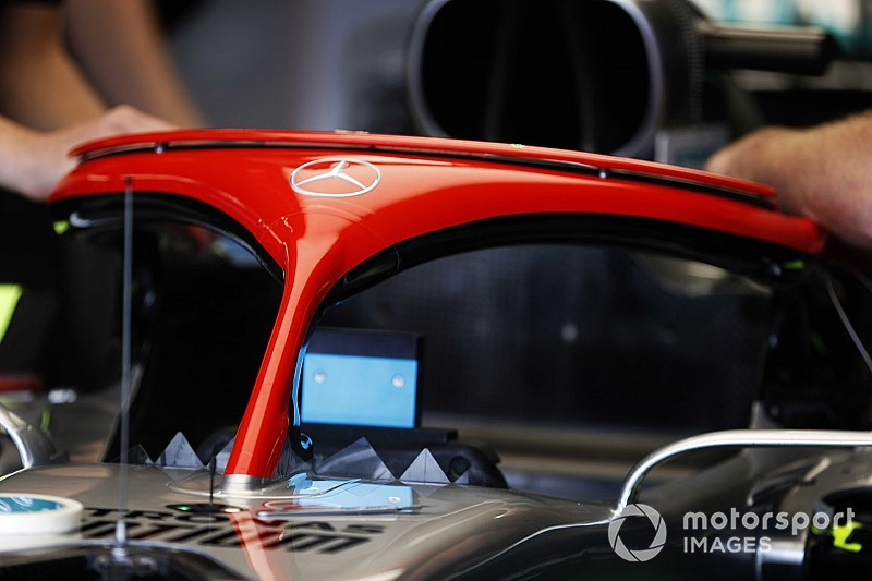 Mercedes to run red halo as Lauda tribute