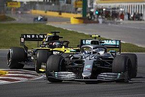 Ricciardo parádés védekezése a Mercedes ellen: videó