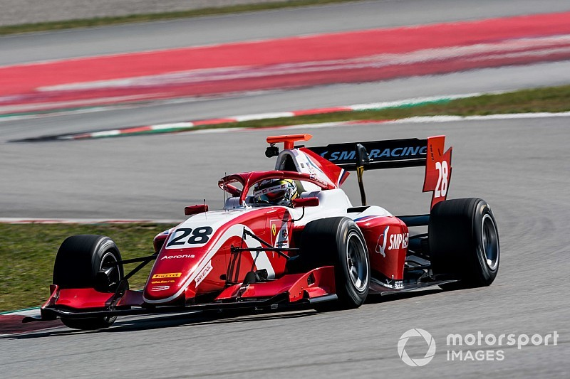 فورمولا 3: شفارتسمان ناشئ فيراري يفوز بالسباق الثاني في فرنسا