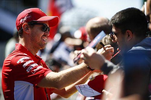 """Vettel: """"Sono affamato di tornare a vincere con la Ferrari"""""""