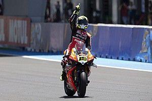 WSBK Jerez: Bautista wint Superpole race, Van der Mark tweede
