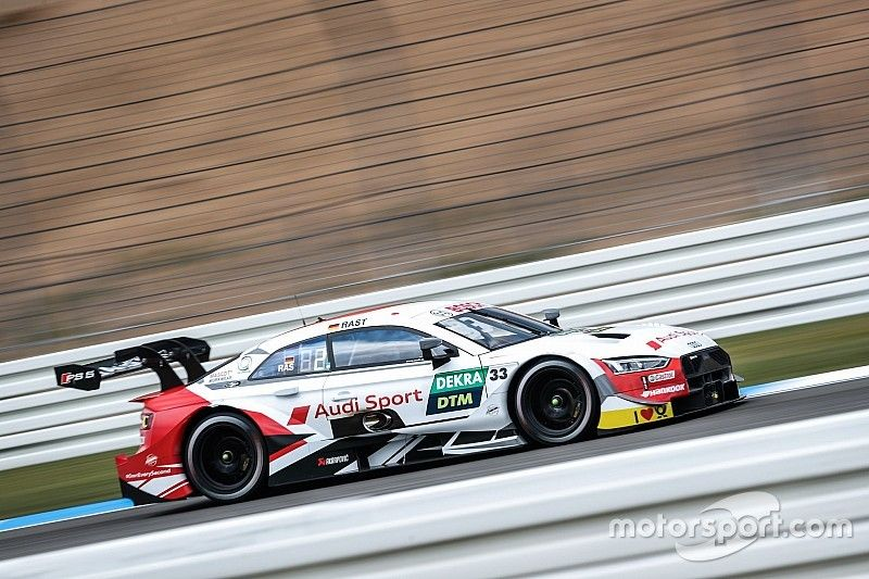 Rast encabeza un gran triplete de Audi en el Hockenheimring
