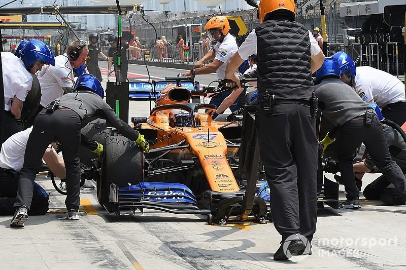Sainz en Norris realistisch over gridposities McLaren
