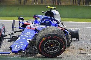 Albon krijgt nieuwe Honda-krachtbron na crash VT3