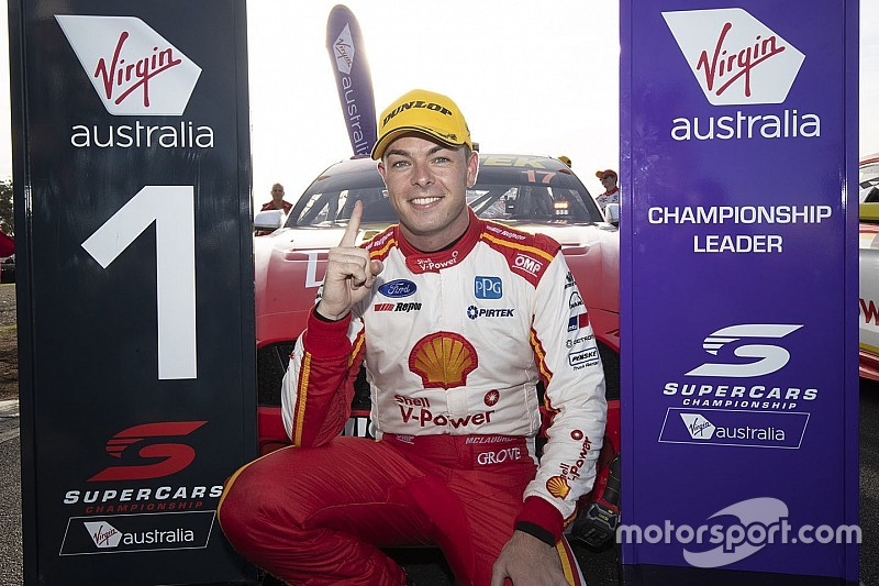 How does McLaughlin's flying Supercars start rank?