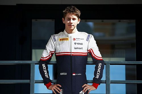 Arthur Leclerc joins Sauber junior team