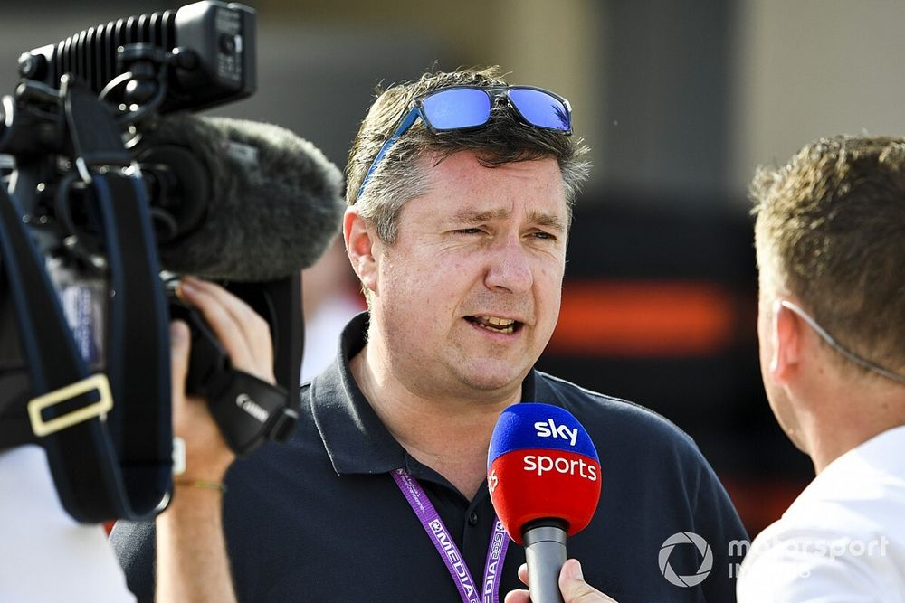 My job in F1: TV commentator David Croft