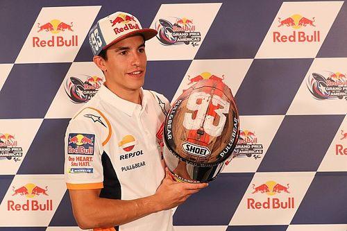 MM Rodeo, helm baru Marquez di MotoGP Amerika