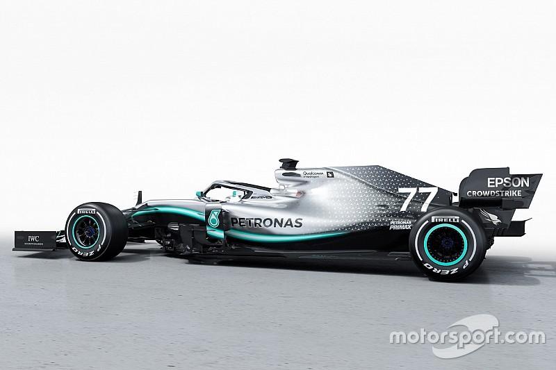 Präsentation Mercedes W10: Die besten Fotos