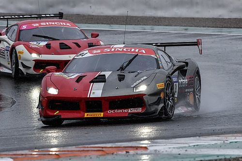 Ferrari Challenge Europe: a Valencia Grossmann, Brown, Kirchmayr e Jansen vincono Gara 2