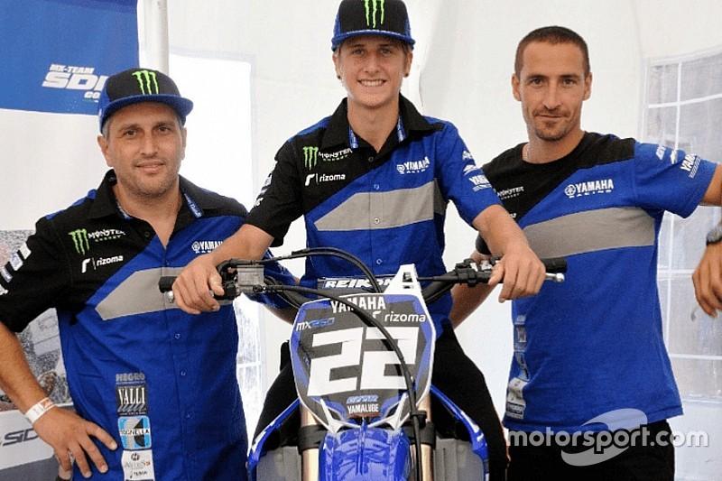 EMX250: Gianluca entra in Yamaha con il Team SDM Corse