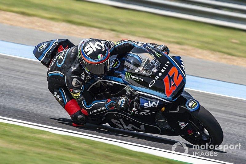 Thailand Moto2: Bagnaia wins as Sky VR46 takes 1-2